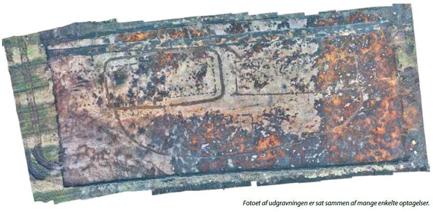 Udgravning af en mulig storgård udenfor Lyngsmosefæstningen